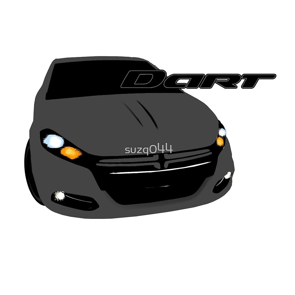 Dodge Dart - Tungsten Metallic by suzq044