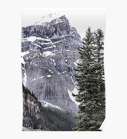 Mount Perren - One of The Ten Peaks - Moraine Lake  Alberta Poster