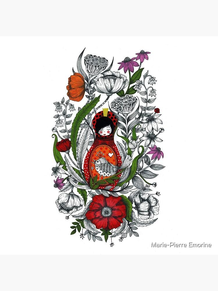 «AU MILIEU DES FLEURS» par MariePommette