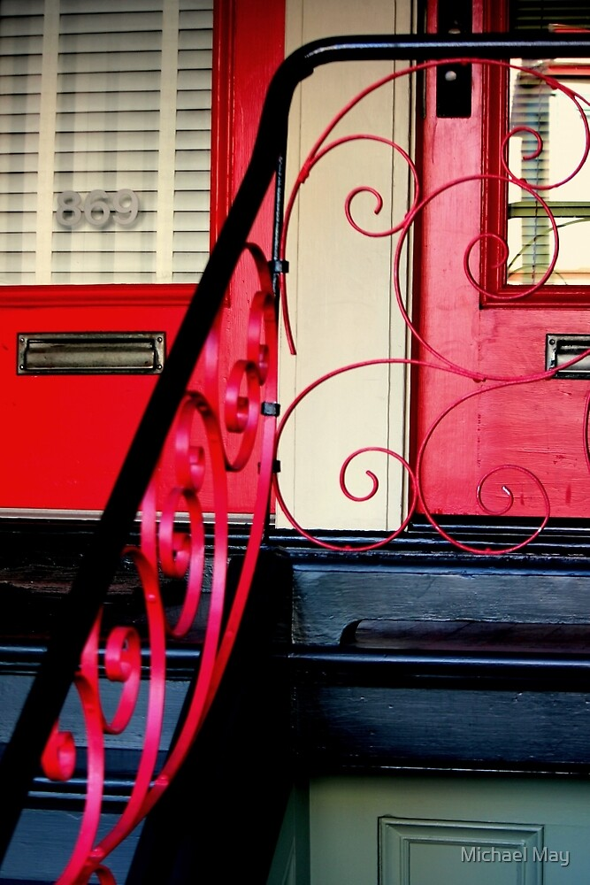 The Traditional Red Door Plus... by Michael May