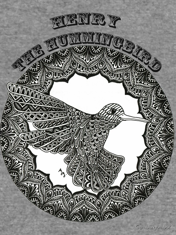 Henry the Hummingbird by Gambargombor
