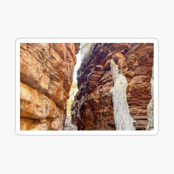 Alligator Gorge at Mt Remarkable South Australia Sticker