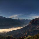 Last bits of Morning Mist by Stefan Trenker