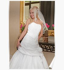 Bride on the mirror Poster