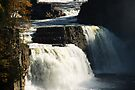Rainbow Falls at Ausable Chasm by ValeriesGallery