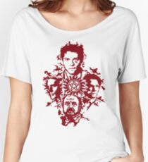 Supernatural Portraits in blood Women's Relaxed Fit T-Shirt