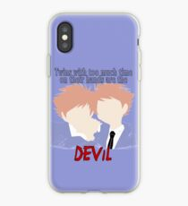 Twins with too much time on their hands iPhone Case