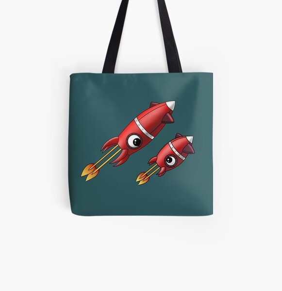 Squizzlers on the move All Over Print Tote Bag
