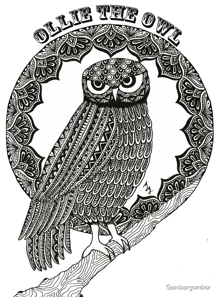 Ollie the Owl by Gambargombor