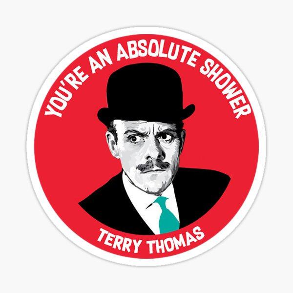 Terry Thomas Classic British - british Souvenirs - Terry Thomas Gifts - Terry Thomas  Mug - Terry Thomas  t shirt Sticker