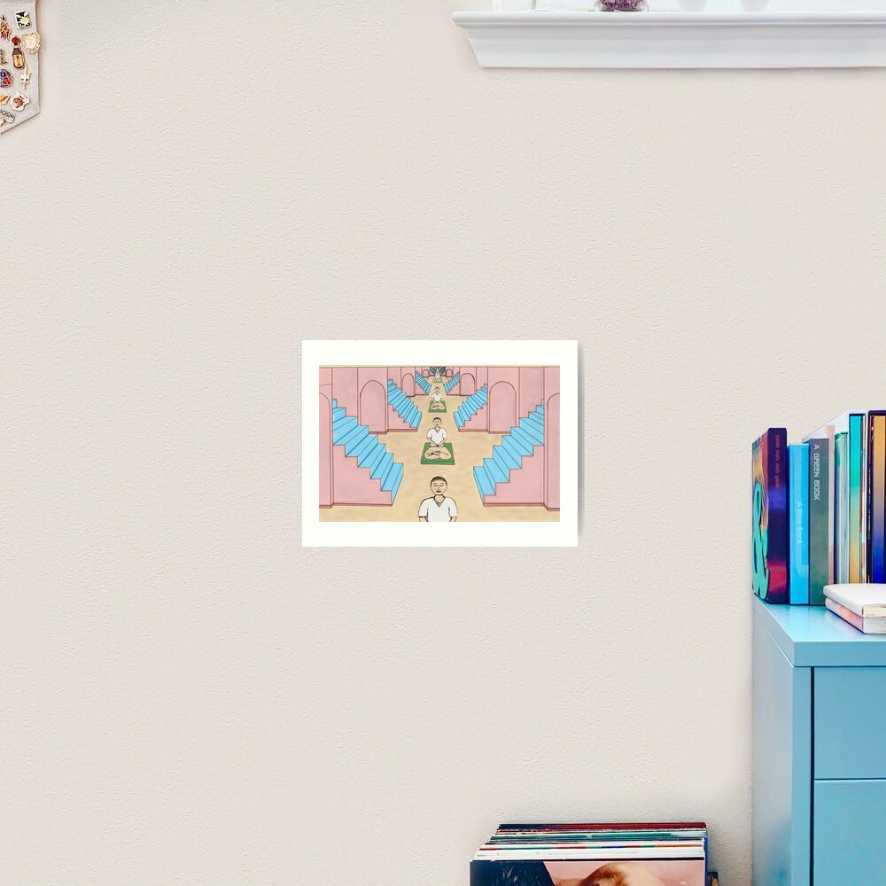Meditation Space Art Print