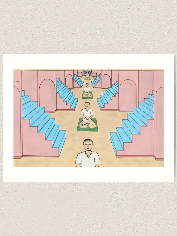Alternate view of Meditation Space Art Print