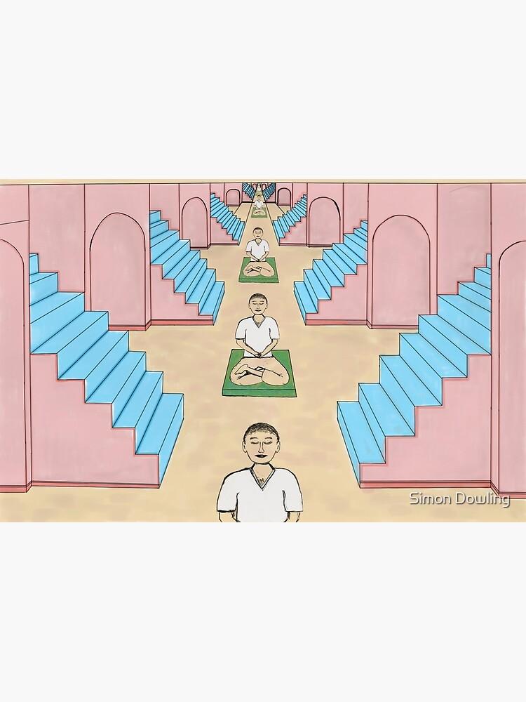 Meditation Space by simondowling