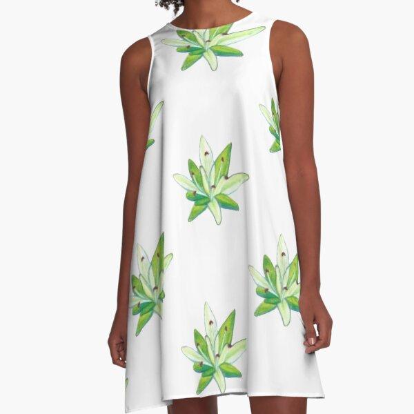 Stonecrop A-Line Dress