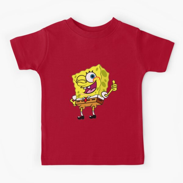 bob esponja pulgares arriba meme Camiseta para niños