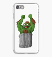 Sesame Street Fighter: Oska iPhone Case/Skin