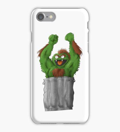Sesame Street Fighter: Oska iPhone Case/Skin