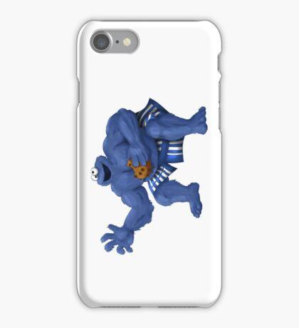Sesame Street Fighter: C. Monda iPhone Case/Skin