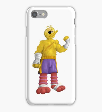 Sesame Street Fighter: Big Bagat iPhone Case/Skin