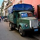 Streets Of Havana by David Sundstrom