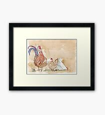 Artemis and the Girls Framed Print