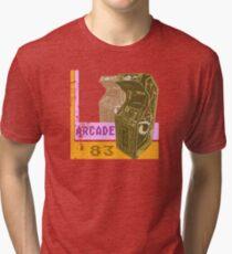 Arcade '83 (Distressed) Tri-blend T-Shirt