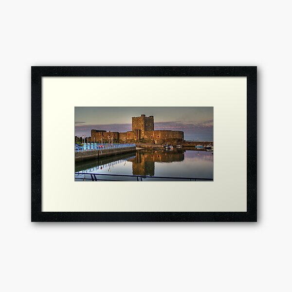 Carrickfergus Castle Framed Art Print