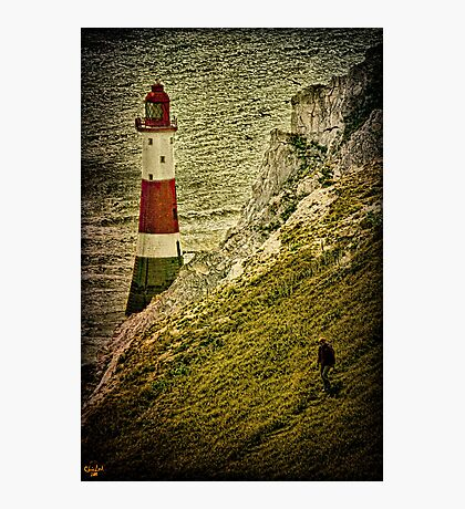 On Beachy Head Photographic Print
