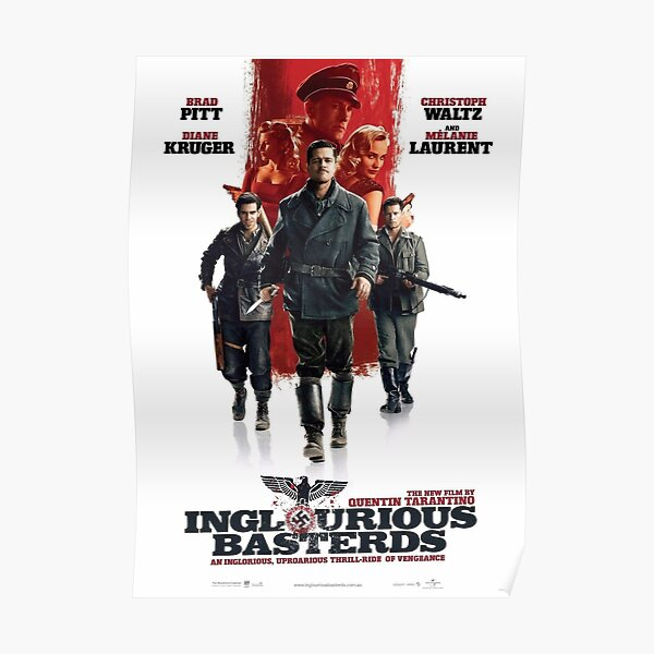 Inglorious Basterds Movie Poster Poster