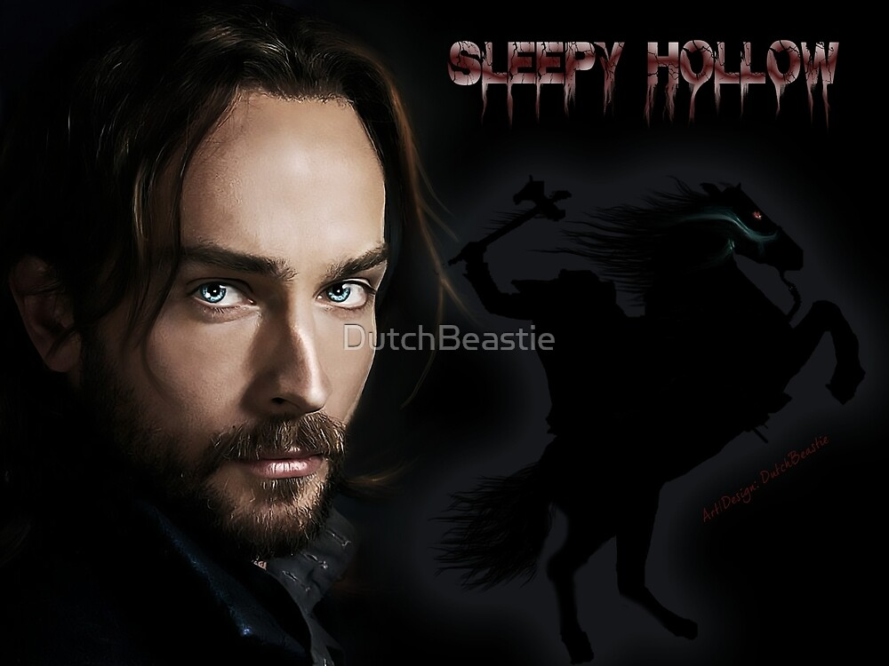 Ichabod and The headless horseman by DutchBeastie