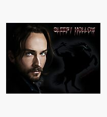 Ichabod and The headless horseman Photographic Print