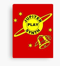 Jupiter Play Synth Canvas Print