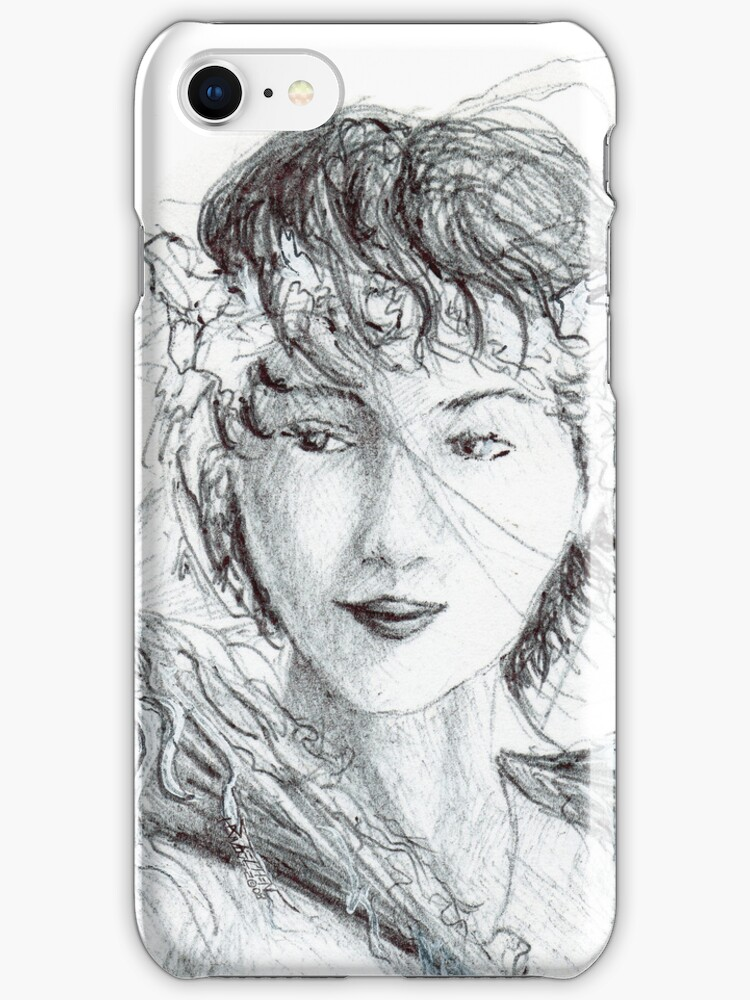 Beauty Looks This Way iphone case by Stephen Haning