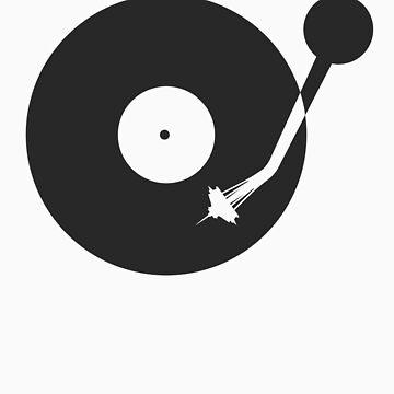 Space Needle Tone Arm by jivetime