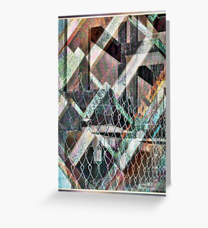 Concrete or Abstract Greeting Card
