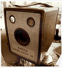 Old Ansco Camera Poster