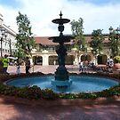 A Fountain In Monaco by Fara