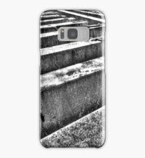 Road barriers. Samsung Galaxy Case/Skin