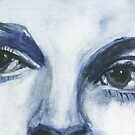 Face Study #4 by EllenCoffin