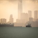 Hong Kong harbour view by hkavmode