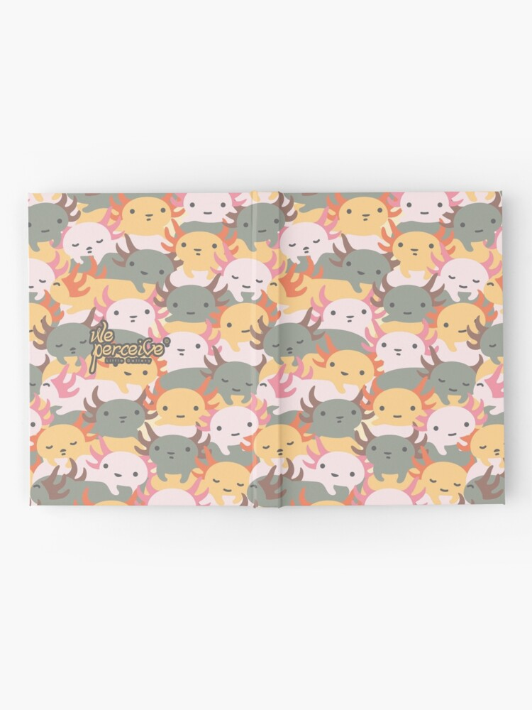 Alternate view of AXOLOTL WAVE - We are the CUTEST CREATURE in the Water World Hardcover Journal