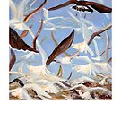 Terns and Gulls by Susan Baily Weaver