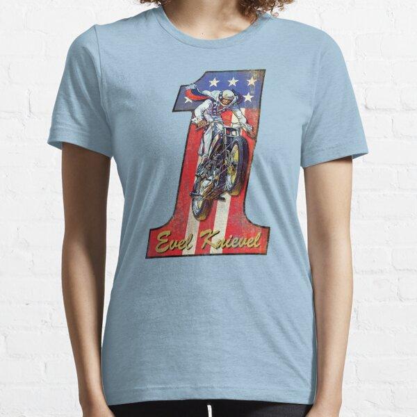 #1Evel Knievel - Retro  Essential T-Shirt