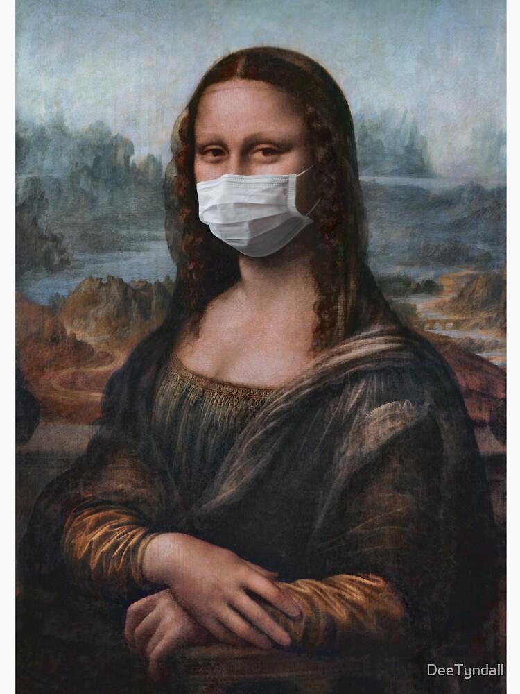 Coronavirus Mona Lisa by DeeTyndall