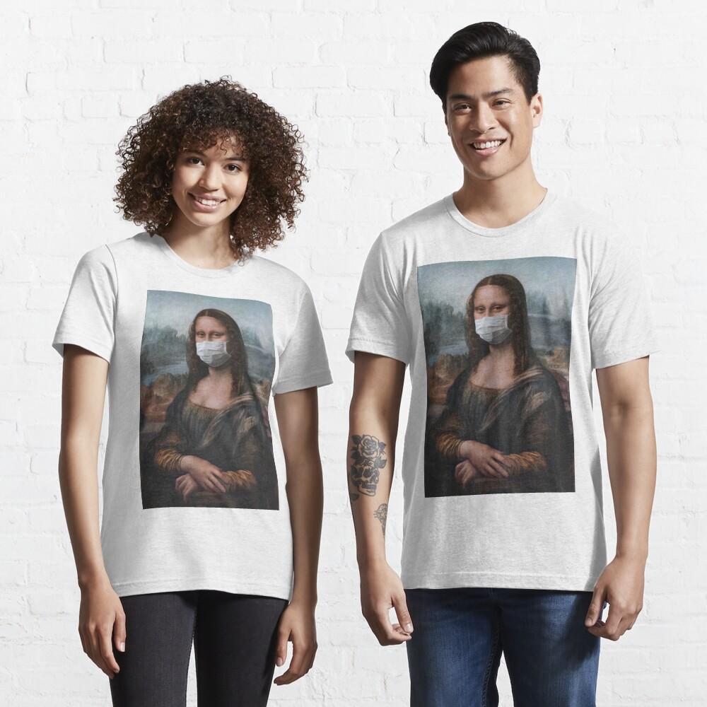 Coronavirus Mona Lisa Essential T-Shirt