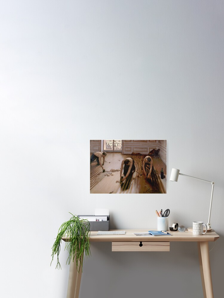 Gustave Caillebotte The Floor Planers Wall Art Poster Print