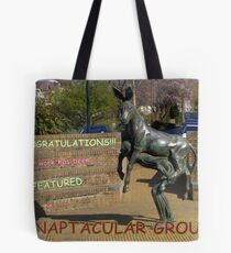 fOR THE cHALLENGE Tote Bag