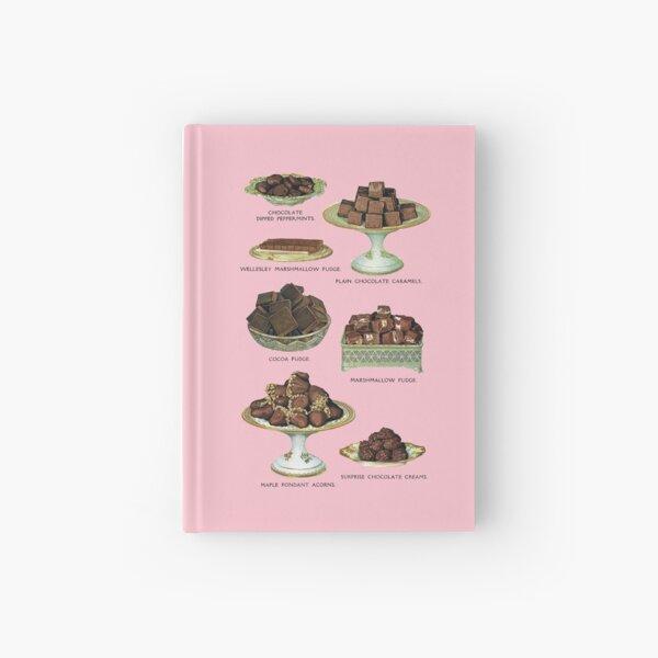 Chocolate Desserts Hardcover Journal