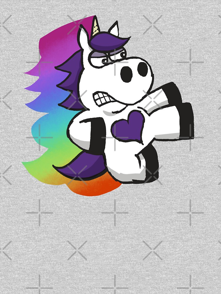 Rainbow Slasher the Unicorn by JCPhillipps