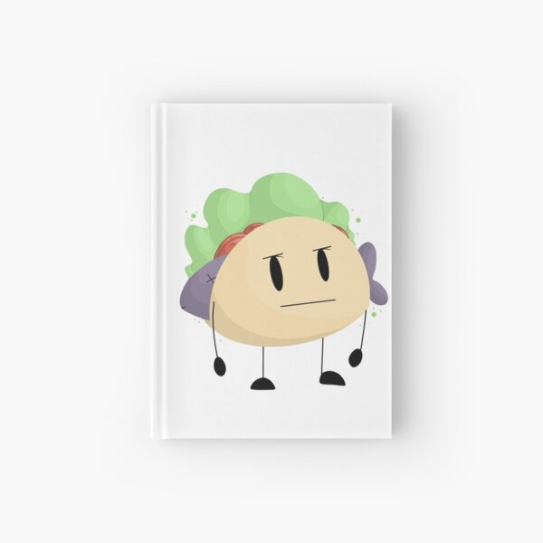 A Depressed taco || bfb Taco || Hardcover Journal
